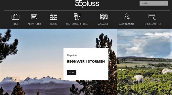 Nyhet – Seniorportalen flyttes til ny hjemmeside 55pluss