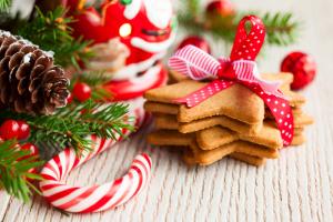Pepperkaker og julepynt